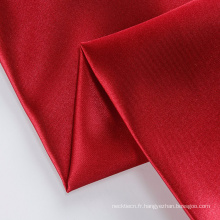 Tissu de soie tissé brillant multicolore désherbage satin