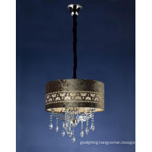 Modern Hotel Project Chandelier Crystal Lamp (CL 5281/5 CR+WT)