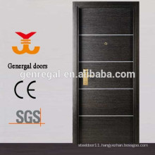 1 Hour Fire Rated Wooden fireproof hotel door