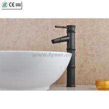 Черный Бамбук ОРБ Латунь ванной бассейна Кран (Q14602B)