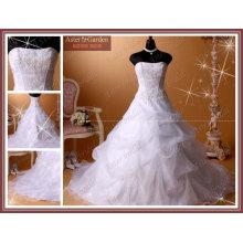 El último vestido de boda caliente de la venta con precio competitivo
