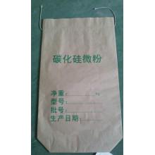 Бумажный мешок с нижним швом для карбида кремния
