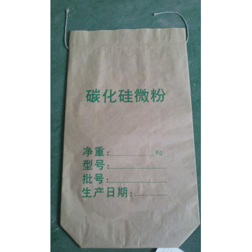 Seam Bottom Kraft Paper Bag for Silicon Carbide Powder