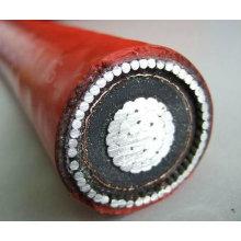 conducteur en aluminium isolé par câble à haute tension en aluminium
