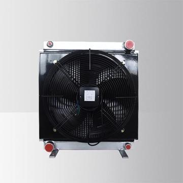 Trocador de calor de água com ventilador