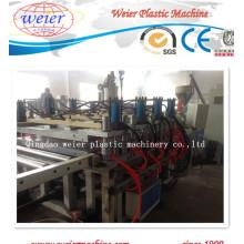 Ligne de production de panneaux de mousse en croûte de PVC