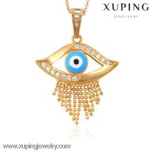 32463-Xuping особый стиль Кулон ювелирные изделия золота оптом синий глаз Кулон