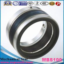 Joint mécanique de joint de soufflet en métal de rechange de Burgmann Mbs100, joint de pompe