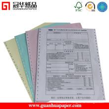 Papier d'ordinateur ISO avec impression personnalisée en papier de copie
