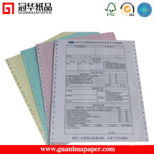 Papel de computador ISO com impressão personalizada feita de papel de cópia