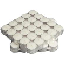 100% paraffin wax 9hr white t light candles