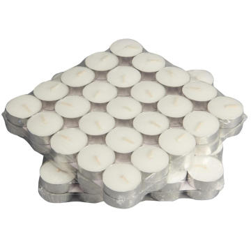 Candela in alluminio tealight candle tea light candle