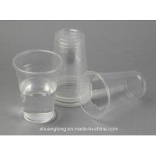 PP, PS Copies en plastique transparent Drinking Cups Water Cup