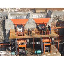 Ligne de production en pierre - Petite machine d'extraction