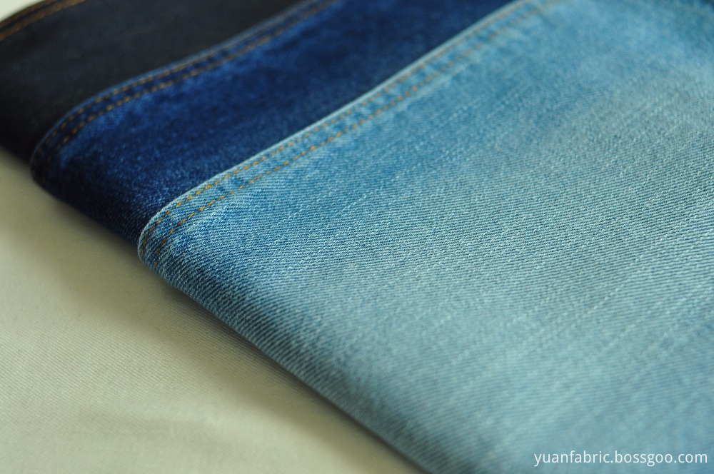 93stock 10oz 100 Cotton Warp Slub Denim Fabric