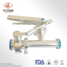 Sainless Steel Tee Connect Two Butterfly Valves