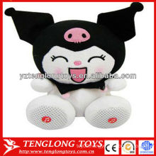 Hot selling animal shaped cute plush toy speaker