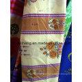 Tecido de poliéster 100% microfibra colorida impressa para cortina