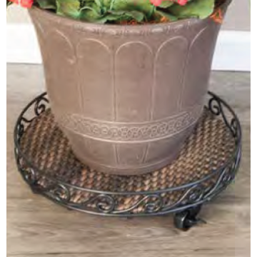 Triturador Heavy Duty planta Caddy metal Pot