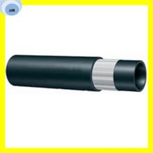 Línea de combustible de malla de fibra negra