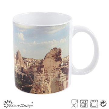11oz White Color Changing Mug with Full Decal