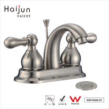 Haijun 2017 Contemporary cUpc Deck Mounted Bathroom Basin Sink Faucet