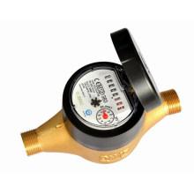 Volumetrische trockene Art Kunststoffabdeckung mit Remote-Kabel Wasserzähler (15E4)