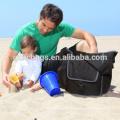Saco adulto do tecido do bebê dos homens do saco da fralda do ombro com almofada em mudança