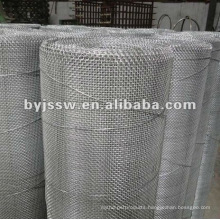 electro galvanized closed edge square wire mesh