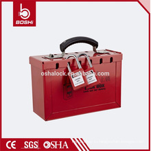 BD-X01 YueQing BOSHI Safety Lockout Portable Toolbox, вмещает 12 навесных замков