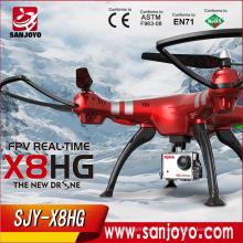 SYMA X8HG 6 ejes gyro RC Quadcopter 720P HD cámara WIFI FPV CON HD CAMERA 2.4GHz Wifi Transmisión en tiempo real Drone