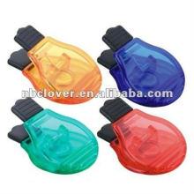 Glühbirne Form Magnet Clip Halter