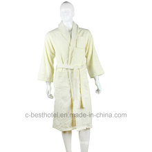 Diseño de moda Alta calidad 100% algodón Terry Hotel o Home Bath Albornoz