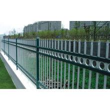 Sin la soldadura de hierro galvanizado caliente de acero caliente valla de jardín