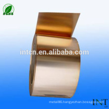China copper Minerals Metallurgy factory supplies brass strips CuZn30
