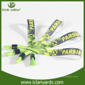 Freies Design freundliche benutzerdefinierte bunte Druck Armbänder für Party