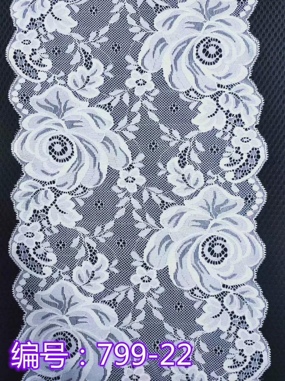 Big flower lace