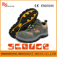 Sapatos de trabalho de segurança sem costura confortáveis RS391