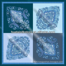 Fashionable silk bandana