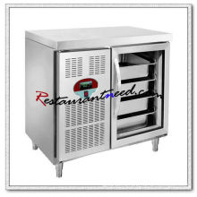R254 1 Стеклянная Дверь Роскошного Fancooling Лоток Холодильник Undercounter
