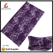 LS5422 LINGSHANG polyester outdoor multifunctional seamless tube bandana