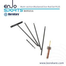 Borekare caça militar multi-seção Blackened Rod Set Rod Plus