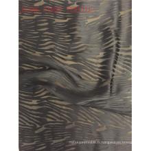 Tissu élastique en soie de viscose