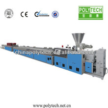 Plastic wpc floor machine