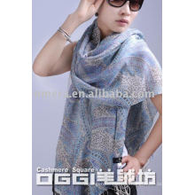 Senhoras de moda lenço mercerizado lã / xaile