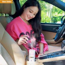 240ml Wood Glass Ultrasonic Cool Mist Mini Humidifier