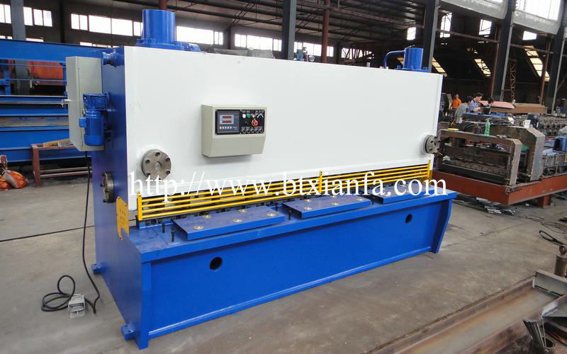 Galvanized Steel Sheet Cutting Shear Machine