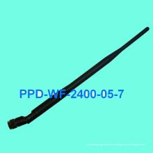 Резиновая антенна WiFi (2,4 ГГц) (PPD-WF-2400-05-7)
