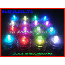 multi color led glowing tea candle hot sell 2017