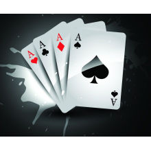Adversting Paper Poker pour la promotion